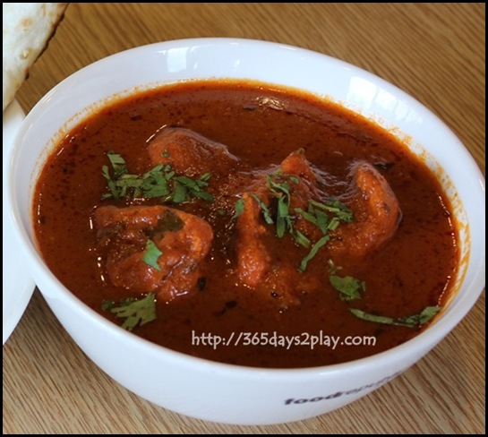 Food Republic @ 112 Katong - Indian Express Stall Butter Chicken with Garlic Naan $9 (2)