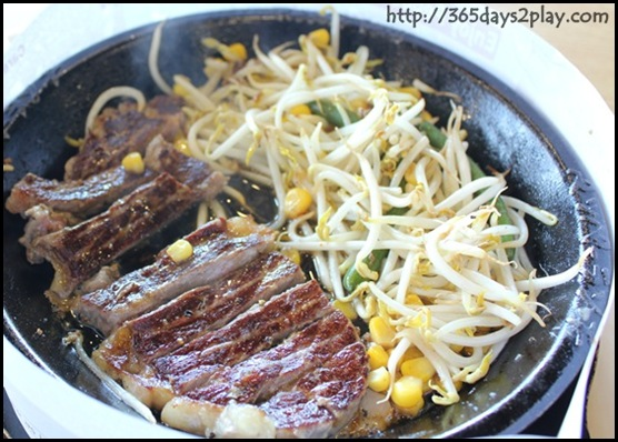 Food Republic @ 112 Katong -Pepper Lunch Stall Pepper Steak $15.90