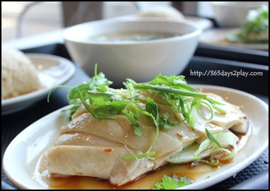Food Republic @ 112 Katong - Wee Nam Kee Chicken Rice Stall Chicken Rice with Dumpling set $6.50