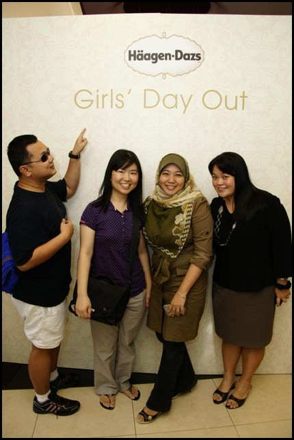 Haagen Dazs Girls Day Out
