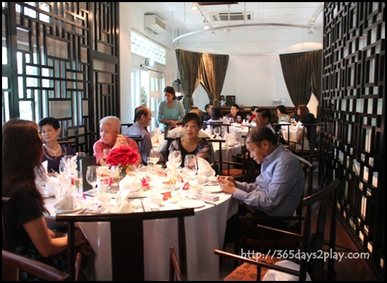 Lunch Wedding at Min Jiang @ one North - Second Floor