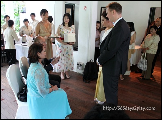 Lunch Wedding at Min Jiang @ one North - Tea Drinking Ceremony