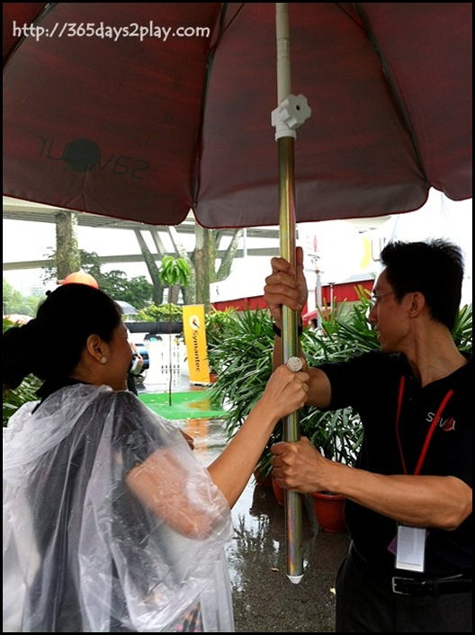 Savour 2012 Umbrella Bearer