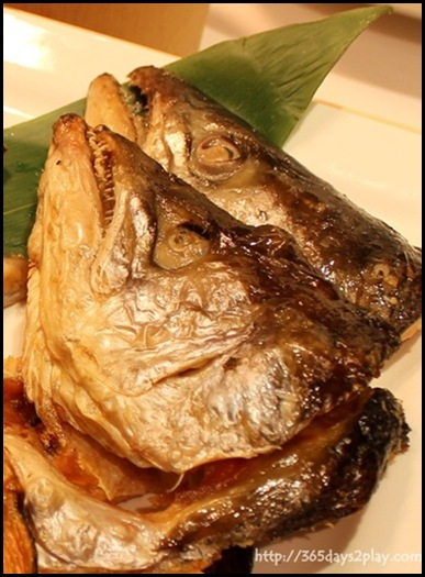 Chiso Zanmai - Braised Fish Head of the Day