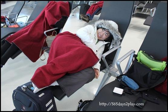 Doha Airport Sleeping Lounge (2)