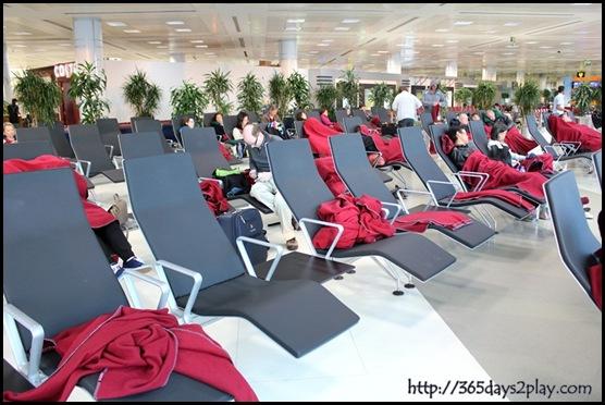 Doha Airport Sleeping Lounge