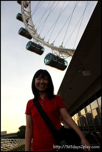 Me at Singapore Flyer
