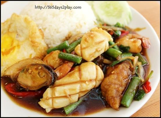 Nakhon - Basil Seafood Rice $8