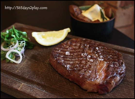 Prime Society - 100% Natural Pasture Fed Black Angus Rib Eye 220g from North Western Tasmania $44