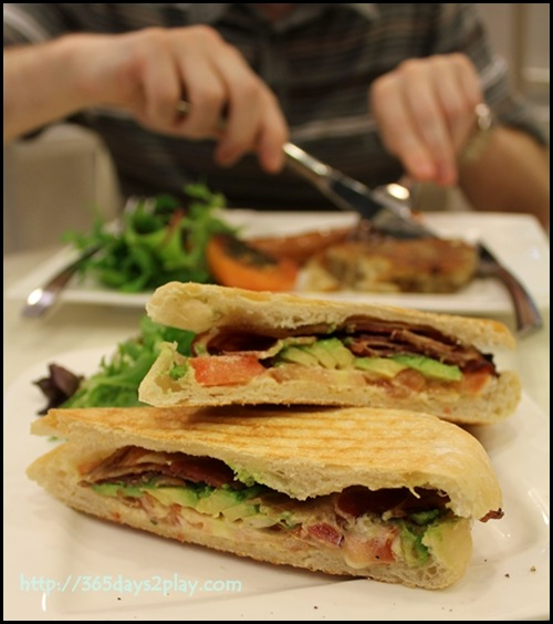 Room.Coffee.Bar - Bacon Avocado and Tomato Panini Sandwich $10 (2)