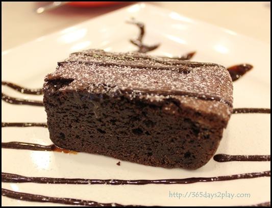 Room.Coffee.Bar - Dark Chocolate Brownie $6