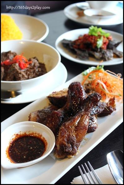 Rumah Rasa - Ayam Panggang Berkakak Jakarta (Grilled Chicken served with Rumah Rasa's Spicy Sauce) $14