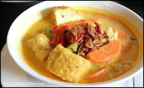 Rumah Rasa - Sayur Lodeh (Mixed vegetable in fragrant coconut gravy) $8 (2)
