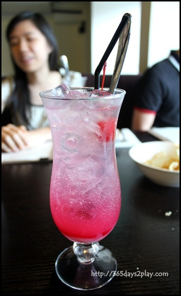 Rumah Rasa - Soda Gembira (Rose Syrup, Evaporated Milk and Soda) $6 (2)
