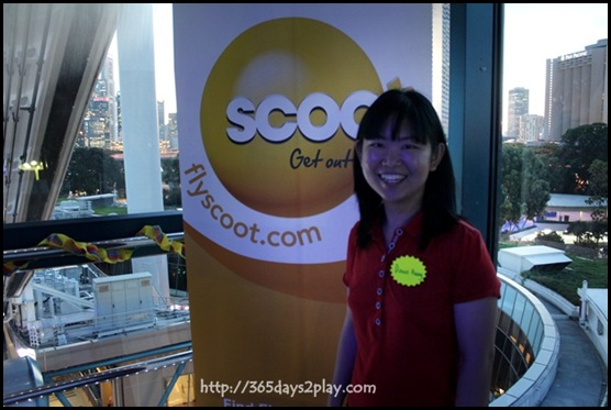 Scoot Event at Singapore Flyer (10)