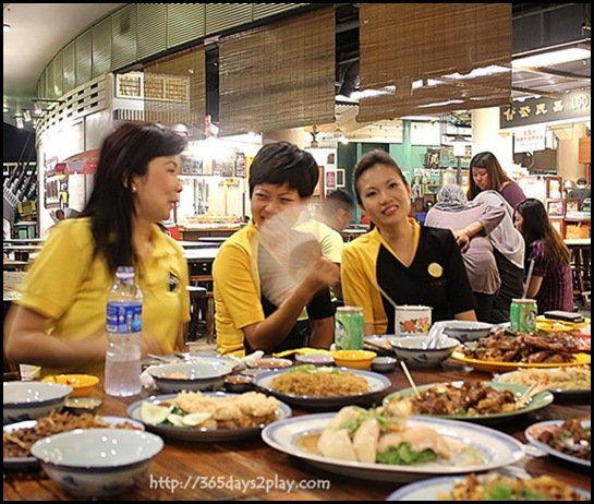 Scoot Event at Singapore Food Trail