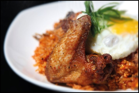 Beer Market - Sambal Fried Rice with Crispy Chicken $10