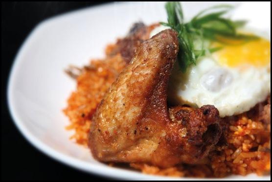 Beer Market - Sambal Fried Rice with Crispy Chicken $10