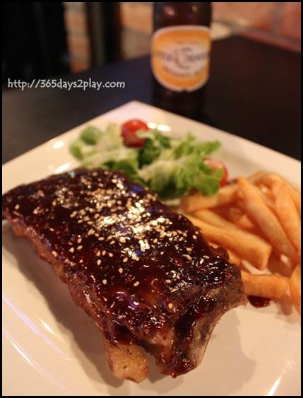 Beer Market - Spicy BBQ Pork Ribs $15