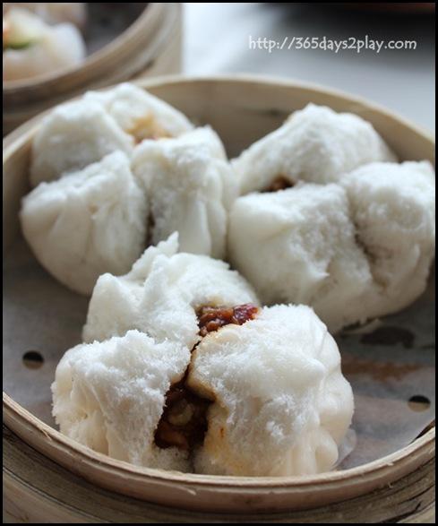 Crystal Jade Dining IN - Char Siew Bao aka Steamed B.B.Q Pork with Honey Bun $4.20