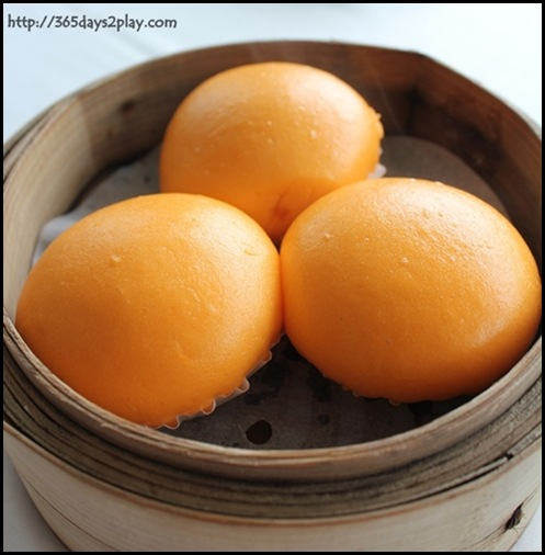 Crystal Jade Dining IN - Steamed Custard Buns with Salted Egg Yolk $4