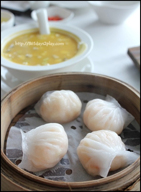 Crystal Jade Dining IN - Steamed Shrimp Dumpling Ha Kau $5.20