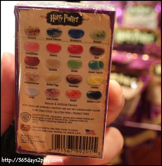 Harry Potter The Exhibition - Bertie Botts Every Flavour Beans
