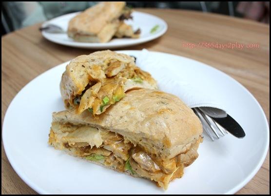 Jewel Coffee - Hickory BBQ Chicken Sandwich