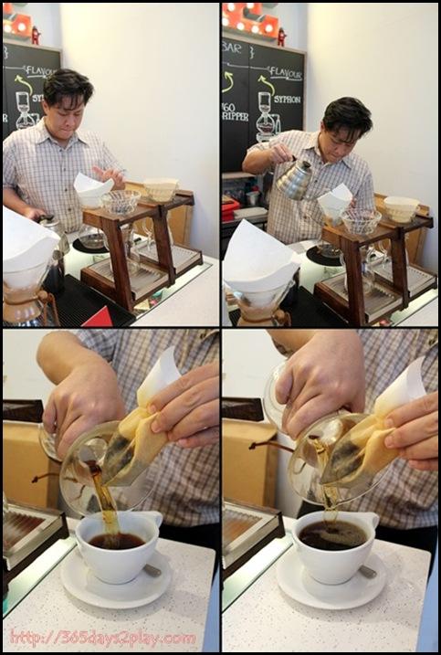 Jewel Coffee - Preparation of V60