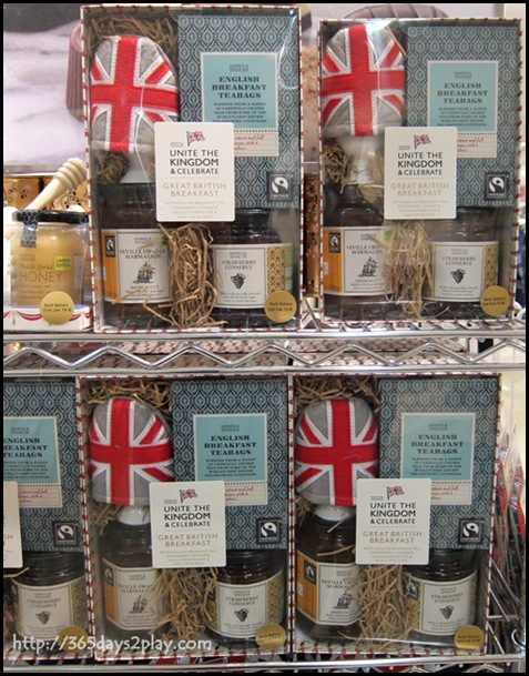 Marks & Spencer - English Breakfast Tea, Strawberry Conserve, Seville Marmalade & Egg Cup & Cosy