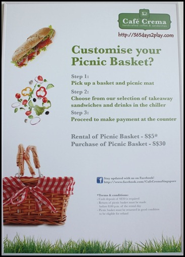 Cafe Crema - Picnic Basket