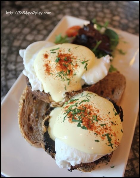 Chock Full of Beans - Portobello Eggs Benedict (3)