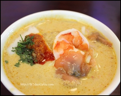 Supertree Dining Hill Street Coffee Shop - Traditional Singapore Laksa $8