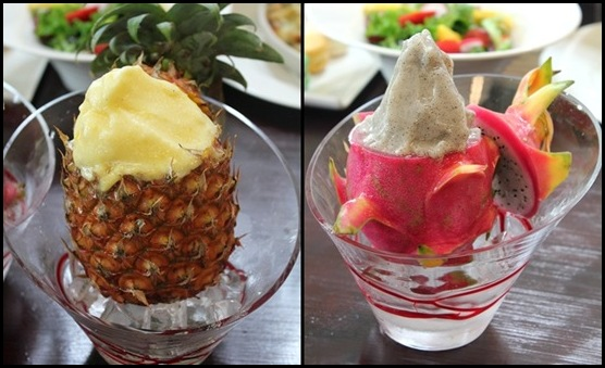 Supertree Dining Peach Garden Noodle House - Pineapple or Dragonfruit Shaved Ice $8