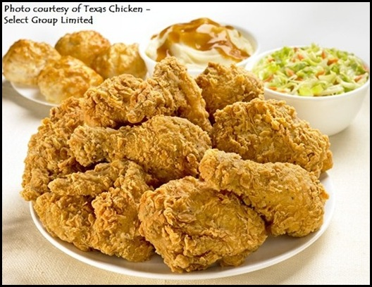 Texas Chicken - 8 pc chicken with sides
