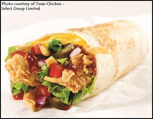 Texas Chicken - Fire Wrap Tenders