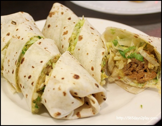313 Somerset The Flyin' Bread - Small Wrap   a Cookie $7.40