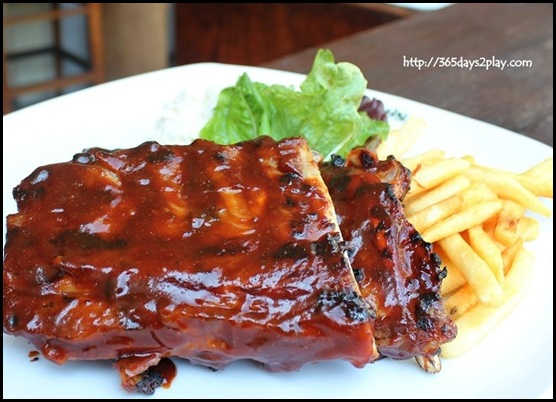 Bobby's Taproom.Grill.Ribs - Signature Baby Back Pork Ribs served with coleslaw and french fries $38 (2)