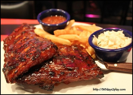 Hard Rock Cafe - Hickory Smoked BBQ Ribs