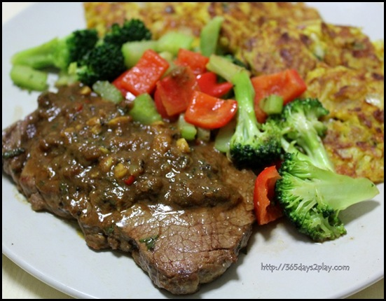 Kiwi Marinaded Steak