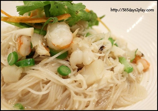 River Palace Chinese Restaurant - Chef Signature Braised Vermicelli with Seafood