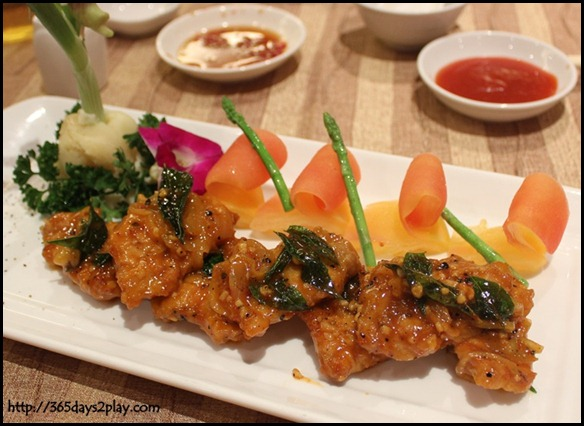 River Palace Chinese Restaurant - Pan Fried Pork Chop in Mongolia Style (2)