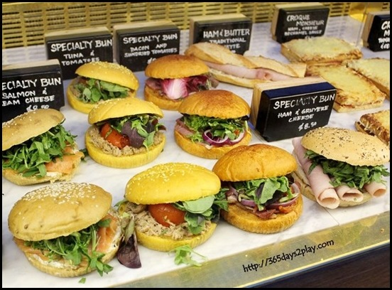 Tiong Bahru Bakery - Sandwiches