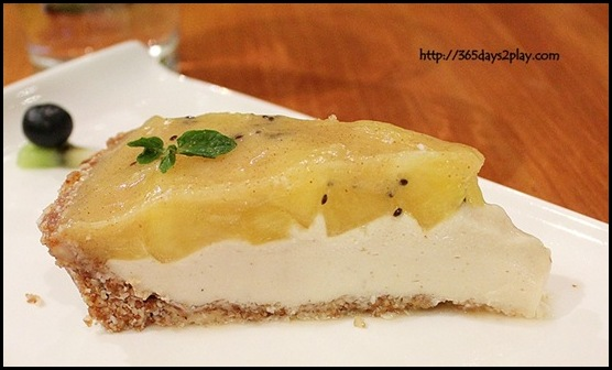 Zespri Kiwifruit Event - Raw Kiwi Pie (2)