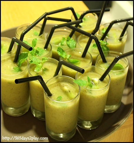 Zespri Kiwifruit Event - Zesty Zespri Drink