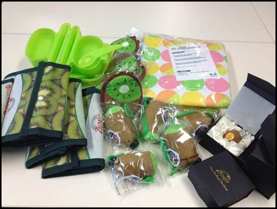 Zespri Kiwifruit Goodie Bag