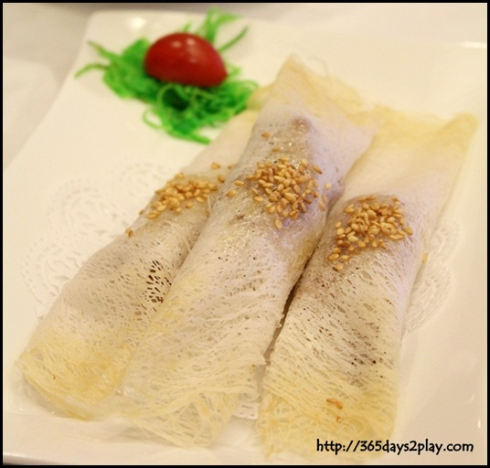 Genting Palace - Sliced Duck Roll