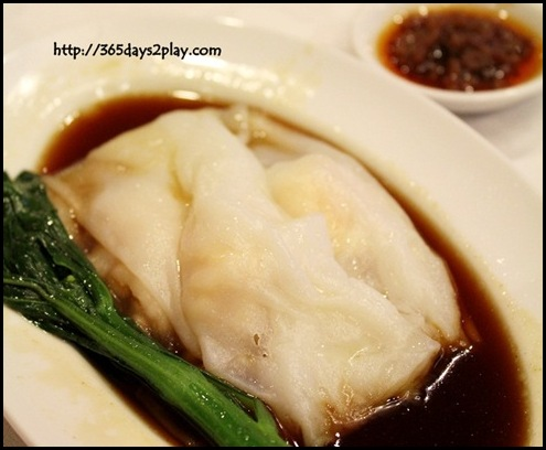 Genting Palace - Steamed Cheong Fun with Prawns RM8.50