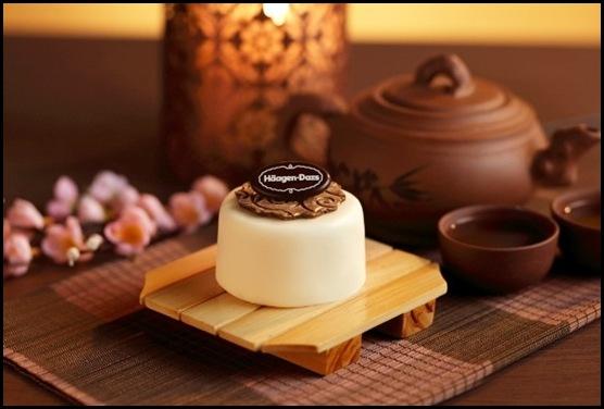 Haagen Dazs Mooncakes - White Chocolate – S$24