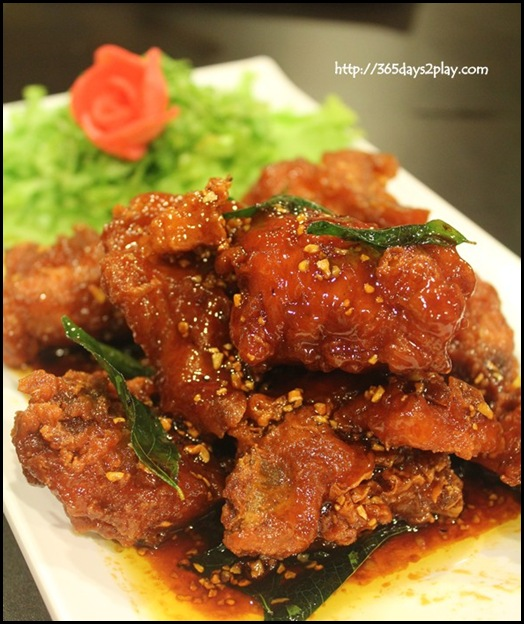 Irvins - Special Pork ribs ($12.80 (s), 18.80 (L)
